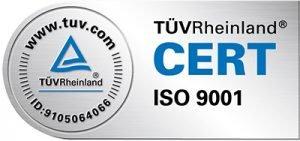 Tüv Zertifizierung – ISO 9001